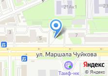 Компания «Шиномонтажная мастерская на Маршала Чуйкова» на карте