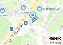 Компания «Ханума» на карте
