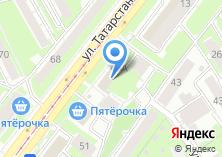 Компания «Наше» на карте