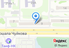 Компания «В 2-х шагах» на карте