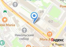 Компания «Дата» на карте