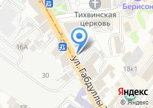 Компания «Ратуша» на карте