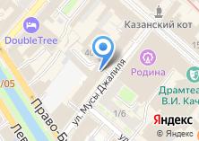 Компания «Банк Аверс» на карте