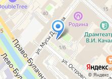 Компания «Шарик» на карте