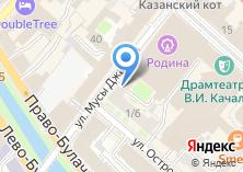 Компания «Студия свадебного танца ты со мной» на карте