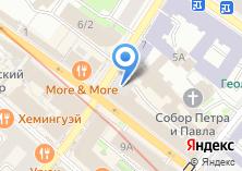 Компания «Защита» на карте