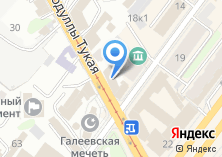 Компания «Юнител» на карте