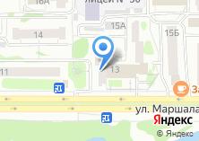 Компания «Наша клиника» на карте