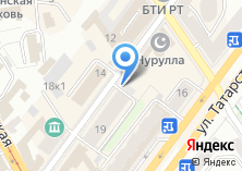 Компания «Казань-строй» на карте