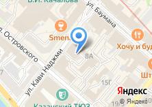 Компания «Oxford street» на карте