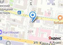Компания «Федерация тенниса Республики Татарстан» на карте