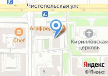 Компания «АКБ ТатИнвестБанк» на карте