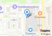 Компания «Золотая дверца» на карте
