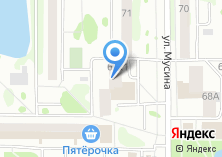 Компания «Мастерская по ремонту одежды на Мусина» на карте