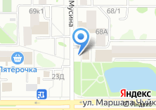 Компания «Магазин молочной продукции на ул. Мусина» на карте