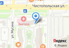 Компания «Ростелеком» на карте
