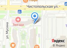 Компания «Банк Зенит филиал банковский центр Татарстан» на карте