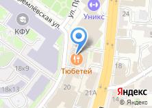 Компания «Декинг-Казань» на карте