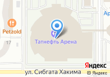 Компания «Татнефть Арена» на карте