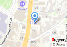 Компания «Строящееся административное здание по ул. Пушкина» на карте