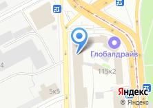 Компания «E1» на карте