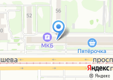 Компания «ТЕХХАУС» на карте