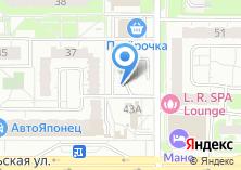 Компания «Автостоянка на Чистопольской» на карте