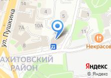 Компания «Строящееся административное здание по ул. Некрасова» на карте