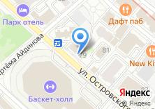 Компания «АСТОР» на карте