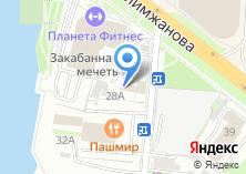 Компания «Академия права» на карте