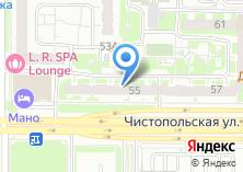 Компания «Бар на Чистопольской» на карте