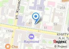 Компания «Строящееся административное здание по ул. Большая Красная» на карте