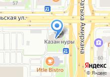 Компания «Казан Нуры» на карте