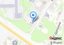 Компания «КазаньИнвестСтрой» на карте