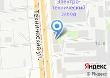 Компания «Альфахимпром» на карте