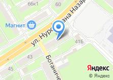 Компания «Старая карта Казани» на карте