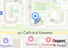 Компания «Арыслан» на карте