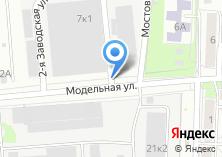 Компания «Шиномонтажная мастерская на Модельной» на карте