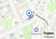 Компания «Творческая мастерская архитекторов Виктора и Гульсины Токаревых» на карте