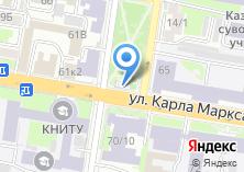 Компания «Пончик» на карте