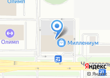 Компания «Мебель Холл» на карте