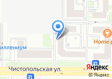 Компания «Строящийся жилой дом по ул. Чистопольская» на карте