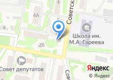Компания «Тонус» на карте