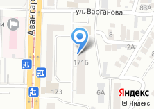 Компания «Красный Восток» на карте