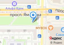 Компания «Магазин фастфудной продукции на проспекте Ямашева» на карте