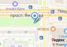 Компания «Магазин кондитерских изделий на проспекте Ямашева» на карте