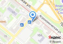 Компания «Каприз» на карте