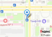 Компания «Бистро на ул. Маршала Чуйкова» на карте