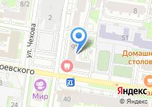 Компания «Петербургская» на карте