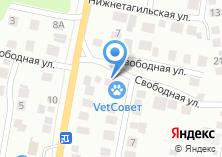 Компания «VetСовет» на карте